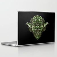 jedi Laptop & iPad Skins featuring Aztec Jedi master Yoda iPhone 4 4s 5 5c 6, pillow case, mugs and tshirt by Greenlight8