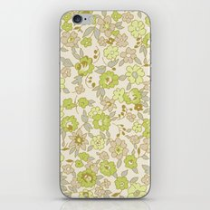 small vintage floral iPhone & iPod Skin