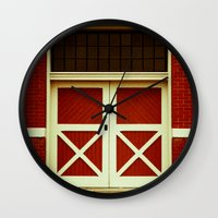 the xx Wall Clocks featuring XX by Rick Staggs
