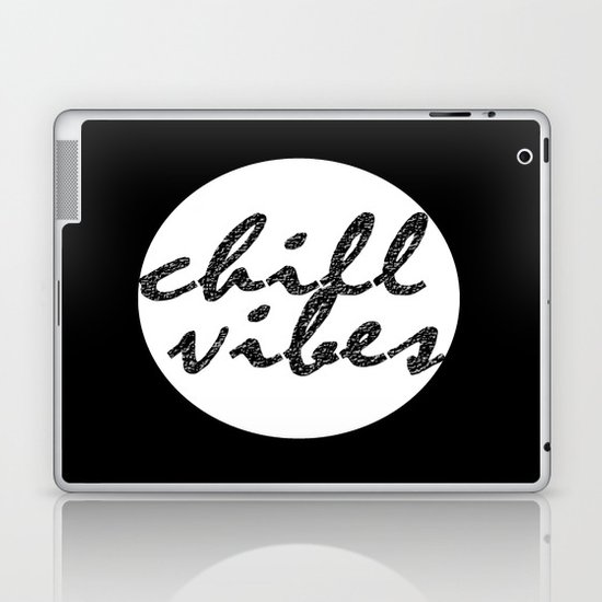 Chill Vibes Laptop & iPad Skin