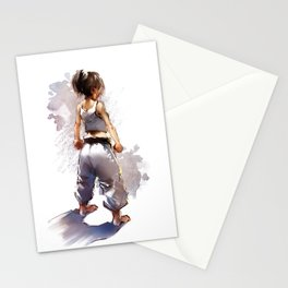 Karate Girl 2 ! Stationery Cards