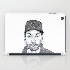 Denzel Washington Portrait iPad Case