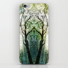 Bamboo Forest Geometry iPhone Skin