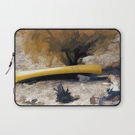 """""""Canoe Beach"""" Laptop Sleeve"""