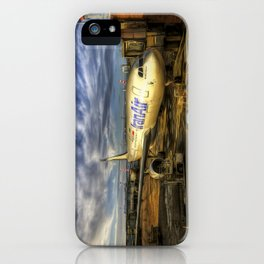Iran Air Airbus A330 Art iPhone Case