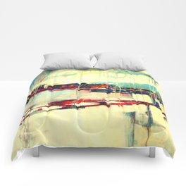 Warsaw III - abstraction Comforters