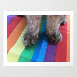 pride paws Art Print