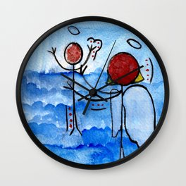 #cagsticks ''The birth of Jesus'' Wall Clock