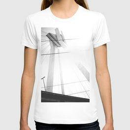 Bridge in Ludwigshafen, Germany. T-shirt