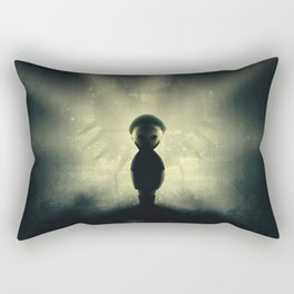 Ben Drowned/You Shouldn't Have Done That Rectangular Pillow