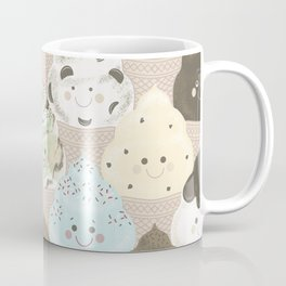 Ice Cream Makes Me Happy Coffee Mug