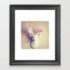 What a Deer Framed Art Print
