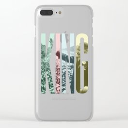 King - Martin Luther King Clear iPhone Case