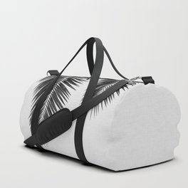 Palm Leaf Black & White I Duffle Bag