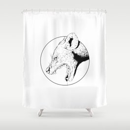 Hyena Shower Curtain