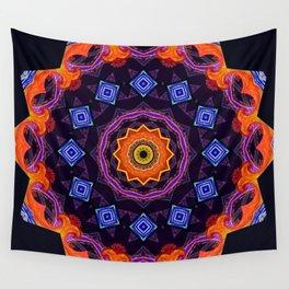 Complex Mandala Wall Tapestry