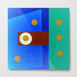 Design Geometric Arte Metal Print