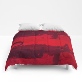 mk. 48 red Comforters