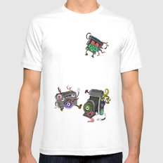 Snapshot (ANALOG zine) SMALL Mens Fitted Tee White