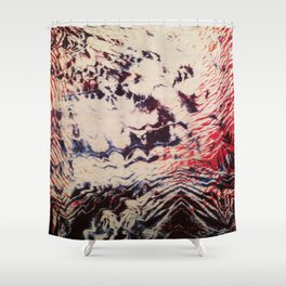Emotion Shibori Shower Curtain