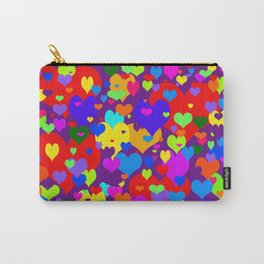 Mille coeurs gais Carry-All Pouch