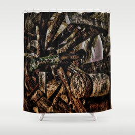 Bucket of Hammers Shower Curtain