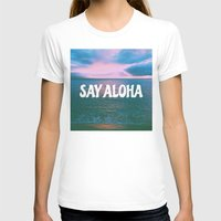 coconut wishes T-shirts featuring COCONUT PALM  by Samantheeyo