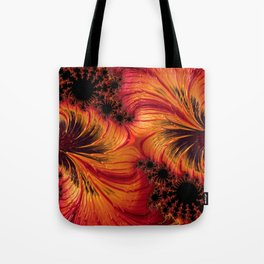 Hot Factal 2 Tote Bag