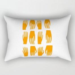 Helping Hand Rectangular Pillow