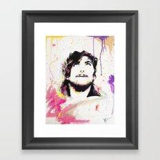 Portait of Anthony Green Framed Art Print