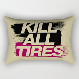Kill All Tires v5 HQvector Rectangular Pillow