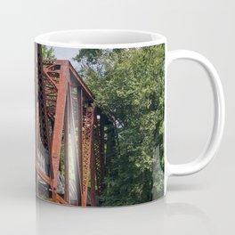 West Virginia Train Bridge Coffee Mug