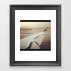 Time To Stop Framed Art Print