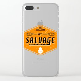 Rey's Salvage Clear iPhone Case