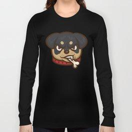 Rottie Pupper Long Sleeve T-shirt