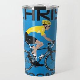 Chris Froome Yellow Jersey Travel Mug