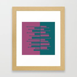 Pianisti Greenpu Framed Art Print