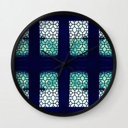 Jaded Pane Wall Clock