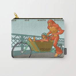 Sasquatch: Wild and Woolly Bicycles Carry-All Pouch