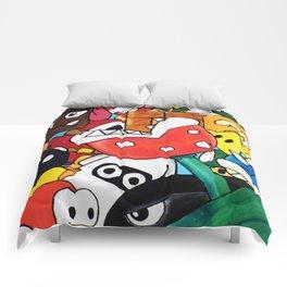 Super Mario Bros Comforters