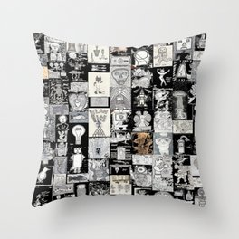Kettle O BLK Throw Pillow