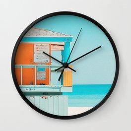Santa Monica / California Wall Clock