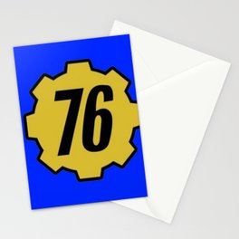 Vault 76 Stationery Cards