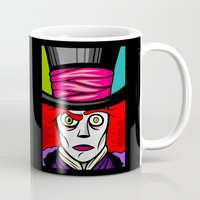 mad hatter Mugs featuring Mad Hatter by Artistic Dyslexia
