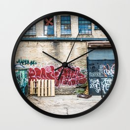 Around Back Wall Clock