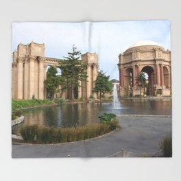 Exploratorium San Francisco Throw Blanket