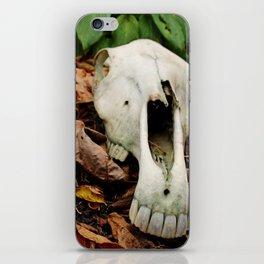 Skull I iPhone Skin
