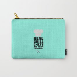 Real Grill Chefs are from Indonesia T-Shirt Dz24t Carry-All Pouch