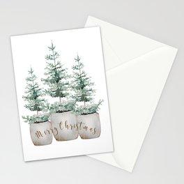 Tree farm Stationery Cards