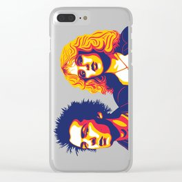 Sid & Nancy Clear iPhone Case